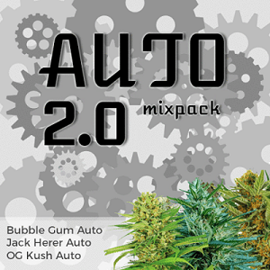 Autoflower 2.0 Mixpack Cannabis Seeds