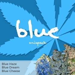 Blue Mixpack Cannabis Seeds