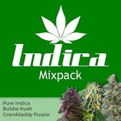 Indica Mixpack Cannabis Seeds